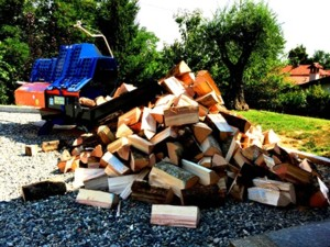 [Balfor Continental 380 Firewood processor Picture # 1]