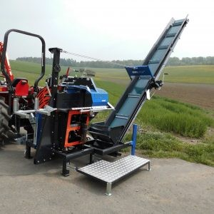 [Tractor Buzz saw with conveyor-Samurai700CNT5 Picture # 1]