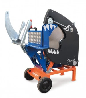 [Tractor 3pt. Buzz saw-Shark 750C Picture # 1]