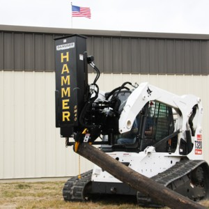 [Danuser skid steer post pounder Picture # 1]