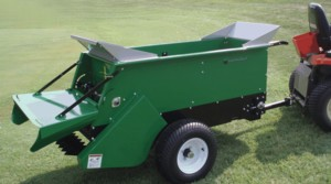 [Earth&Turf Mutispread Topdresser-Hydraulic drive Picture # 1]