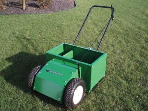 [Earth and Turf-45HP walk behind top dresser Picture # 1]