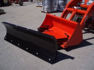 [Earth and Turf Clamp on bucket snow blade Picture # 1]