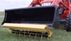 [Earth and Turf Turfsaw aerator-bucket mount Picture # 1]