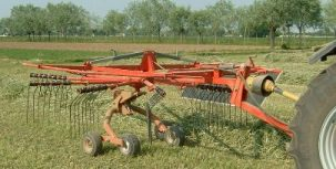 [Galfre Pull Type Rotary Hay Rake-4.5m Picture # 1]