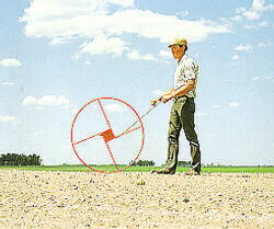 [10 Foot Circumference Measuring Wheel Picture # 1]