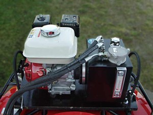 [ATV log loader trailer hyd. pump kit Picture # 1]