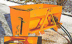 [HYDROMANN Sand & Salt Spreaders Type 200H (w/hyd. motor & hoses) Picture # 1]