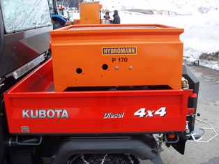 [Hydromann P170 Spreader for Kubota RTV Picture # 1]