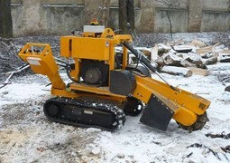 [Laski tracked stump grinder Predator P38M Picture # 1]