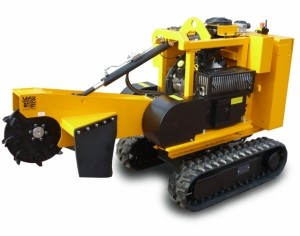 [Laski remote control tracked stump grinder Predator P38R Picture # 1]
