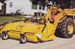 [Pickup broom loader LLB-32