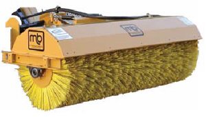 [MB Skid steer broom SHL 7 foot Picture # 1]