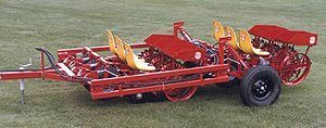 [Mechanical 525 Bed transplanter-6 row Picture # 1]