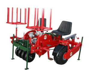 [Mechanical 912T twin row mulch planter Picture # 1]