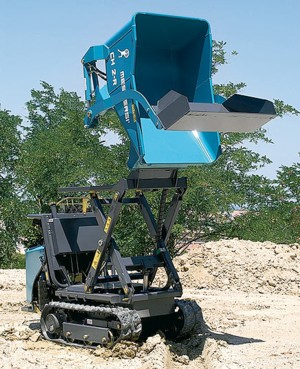 [Messersi tracked high dump self loading dumper hauler Picture # 1]