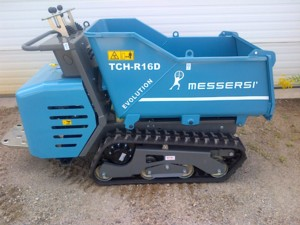 [Messersi tracked  dumper hauler-two speed Picture # 1]