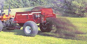 [Millcreek Model 4300 turf spreader-rib tires Picture # 1]