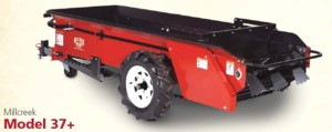 [Millcreek Model 37-Poly FloorGround Driven Manure Spreader Picture # 1]
