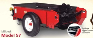[Millcreek Model 57P-PTO Driven Manure Spreader Picture # 1]