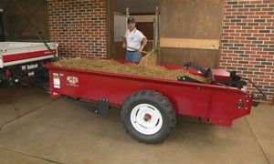 [Millcreek Model 77G-Ground Driven Manure Spreader Picture # 1]
