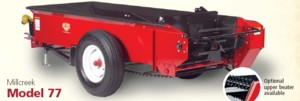[Millcreek Model 77P-PTO Driven Manure Spreader Picture # 1]