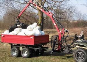 [ATV dump box Picture # 1]
