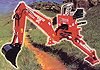 [Nardi three point hitch backhoe-6 1/2 ft. Picture # 1]