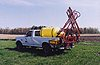 [500 Gallon Skid Mount TRUCK MOUNTED SPRAYER	 Picture # 1]