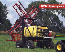 [200 Gallon tank	ATV SPRAYERS Picture # 1]