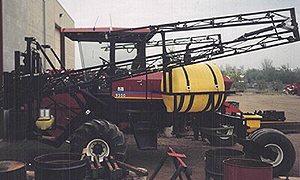 [Precision Windrower Sprayer-500 Gallon Picture # 1]