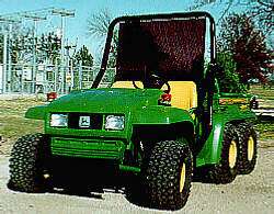 [Rollover Protective Structure for John Deere Gator (ROPS)-Electric Wiper Picture # 1]