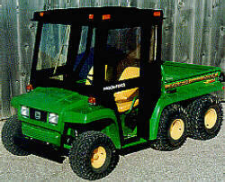 [Rollover Protective Structure for John Deere Gator (ROPS)-Windshield Picture # 1]
