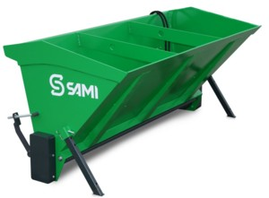 [Tractor mounted self loading sand spreader-79 inch Picture # 1]