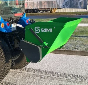[Tractor mounted self loading sand spreader-50 inch Picture # 1]