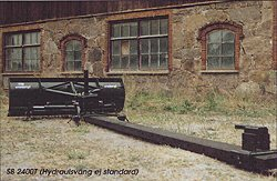 [Vreten SB Series-8 foot Tractor Mounted Snowplough Picture # 1]